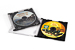 Custodia jewel box con tray nero completa di mini cd